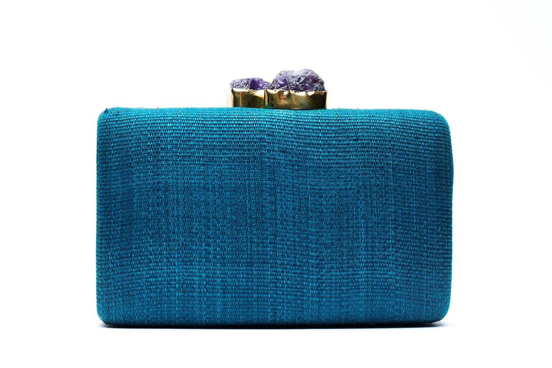 KAPRE TINA DARK GREEN W PURPLE QUARTZ - Bago Handicrafts